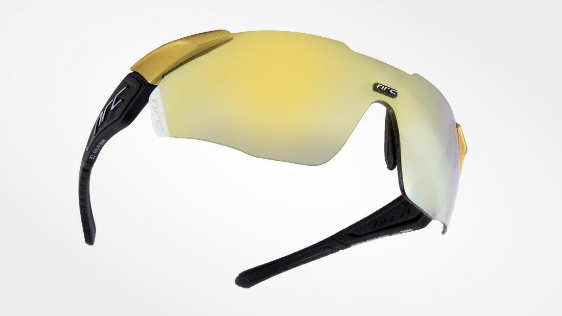 サングラスイタリアブランドNRC occhiali X1.BLACK SHADOW自転車競技、他様々なスポーツに! スポーツサングラス ノーズパッドは調節可能!超フィットサングラス高機能レンズ!