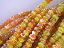 とんぼ珠 アクセサリーパーツぼたん風 オレンジ6mm台湾先住民の伝統的な手工芸品古来より珍重されるアクセサリーパーツとんぼ珠スワロフスキー・チェコビーズにも並ぶアジアの誇りペンダントネックレス・ピアスを♪