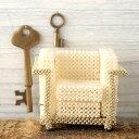 ビーズファクトリー ミニチュア ビーズチェアキット(デザイナーズチェア 白) No.309 LC2 ビーズキット デザイナーズ チェア イス 椅子 インテリア モチーフ 家具 ディスプレイ シードビーズ