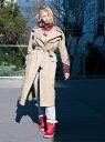 [Rakuten Fashion]【SALE/50%OFF】maturely / Solotex Storm Coat BEAMS BOY ビームス ウイメン コート/ジャケット トレンチコート ベージュ ネイビー【RBA_E】【送料無料】