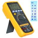 MM86 デジタル マルチメータ DMM 電池付き 電流 電圧 抵抗値 温度 トランジスタ ダイオード 導通測定 自動および手動レンジ