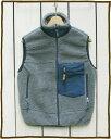 CAMCO Outdoor Classic Fleece Vest / boa pile retro / Grey カムコ アウトドア クラシック フリース ベ...
