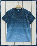 Good On Short Sleeve Blind Dye Tee Blue over dye ���åɥ��� ���åȥ��� �֥饤��� ���� T����� / Ⱦµ �֥롼 �ϥꥦ�å� �������� made in USA ����ꥫ�� goodon ���åɥ��� t�����