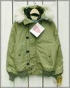 Spiewak N2-B Flight Jacket / military GRN / coyote fur hood deadstock made in usa スピワック N2B フライト ジャケ