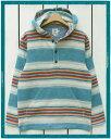 Pendleton Surf Serape Stripe Popover pullover / Turquoise Sand ペンドルトン サーフ セ