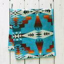 Pendleton Native Jacquard Bath Towel Tucson Turquoise ペンドルトン ネイティブ ジャガ...