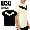 ディーゼル メンズ DIESEL 半袖Tシャツ ロゴ トップスT-MAYURINO-A 白 ホワイト ブラック 黒インスタ映え オシャレ 大きいサイズ ビッグサイズあり