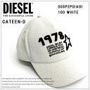 ディーゼル キャップ キャップ DIESEL CAP CATEEN-D海外ブランド インポート 帽子 ホワイト 白 シンプル ブランドロゴ メンズ レディース ユニセックススタ-キャップ/星/スター父の日ギフト