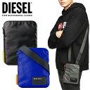 ディーゼル DIESEL メンズ ショルダーバッグ X04815 P1157 F-DISCOVER SMALLCROS 鞄 ミニバッグ グレー ブラック 黒