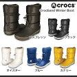 【レディース】クロックス クロックバンド ウィンター ブーツ ウィメンCrocs Crocband Winter Boot Women