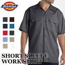 ディッキーズ メンズ半袖ワークシャツ DICKIES WORK SHIRT #1574 大きいサイズ カジュアル 半袖 作業着 作業服