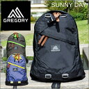 GREGORY SUNNY DAY グレゴリーリュックサック...