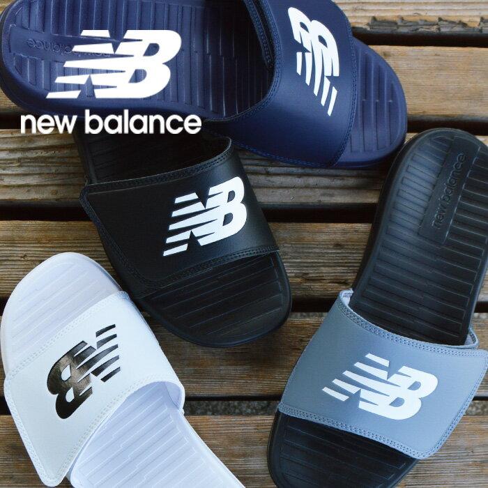 ニューバランス シャワーサンダル メンズ レディース 黒 newbalance Recovery Slide SD230