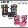 【キッズ・ジュニア】クロックス クロックバンド ガストブーツ ハローキティーCrocs Crocband Gust Boots HELLO KITTY
