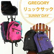 GREGORY SUNNY DAY/グレゴリーリュックサック サニーデイ/バックパック バッグ/送料無料