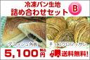 【送料無料】業務用冷凍パン生地詰合せBセットデニッシュ角板&ミニクロワッサン(チョコ)5P13oct13_a 【RCP】