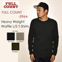 "FULLCOUNT フルカウント""5964""HEAVY WEIGHT WAFFLE LONG SLEEVE T-SHIRTSヘヴィーウエイトワッフルL/STee[L/STee]"