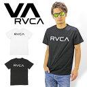 【対象商品2点購入で送料無料】RVCA BIG RVCA ロゴ半袖Tシャツ ルーカ メンズ サーフ SURF スケボー ストリート SK8 カリフォルニア AG...