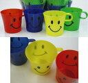 スマイル プラスチックカップ 4色セット SMILEコップ/プラカップ/雑貨/okutani オクタニ/I07【RCP】【あす楽対応】