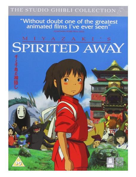 DVD千と千尋の神隠しイギリス盤日本語・英語どちらも収録お子様の英語学習にもスタジオジブリ…...:bearsisland:10000289