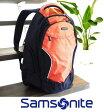 Samsonite サムソナイトバッグパックオレンジリュックサック旅行・通学・通勤・ビジネスウォーキング・自転車のお供にも♪クッション性素材背面パネルノートPC・タブレット収納スペース超軽量680g