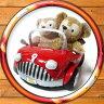 ダッフィー・シェリーメイが乗れる赤い車 ぬいぐるみオープンカーDuffy ShellieMay【YDKG-tk】