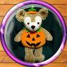 ダッフィー・シェリーメイによく似合うかぼちゃのコスチュームハロウィン仮装にどうぞ【YDKG-tk】