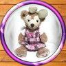 シェリーメイによく似合う可愛いピンクのお洋服チェックワンピース♪ダッフィーのお友達【YDKG-tk】