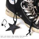 【メール便対応】ネックレス メンズ レディース スター 星 レザー 黒 ブラック スターネックレス クリックポスト ゆうパケット ロングネックレス 星ネックレス メンズネックレス モード チャーム