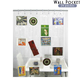 Transparent Wall Pocket 24-Pocket fs3gm