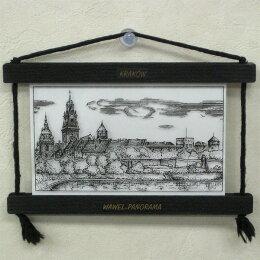 クラクフヴァヴェル城ガラスフレーム東欧雑貨