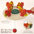 ポーランド 木のおもちゃ ニワトリの朝食東欧雑貨 キッズ こども おもちゃ 玩具 かわいい 05P07Feb16
