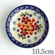 【ポーランド陶器・食器】プレートSS P154-ALC3 赤い花柄 マニュファクトゥラ社 ミニプレート