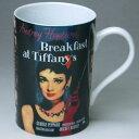 オードリーの「ティファニーで朝食を」Breakfast of Tiffany's マグカップ☆★