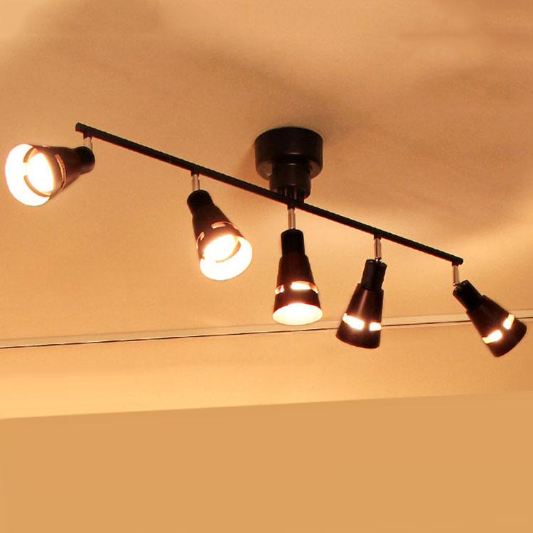【送料無料】シーリングライト リモコン付 LED 5灯 クインク[Quinque]BBR-006|スポットライト 天井照明 照明器具 リモコン リモート 間接照明 リビング用 居間用 ウッド シンプル ナチュラル テイスト おしゃれ 和室 寝室 インテリア ライト 電気 おしゃれ照明 シーリング