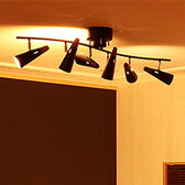 【送料無料】シーリングライト リモコン付led 6灯 シスベック リモート[SIXBEC REMOTE]BBS-002 ボーベル[beaubelle]|スポットライト 天井照明 リモコン LED 電球付き 調光 調色 寝室 北欧 おしゃれ リビング用 居間用 インテリア 照明器具 ライト 電気