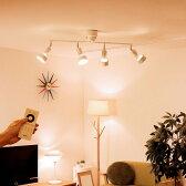 【送料無料】シーリングライト 4灯 リングス リモート[RINGS REMOTE]BBR-021 ボーベル【天井照明 スポットライト 照明 リモコン led 電球付き 調光 調色 調光式 6畳 北欧 テイスト ホワイト モダン おしゃれ 寝室 リビング用 居間用】【インテリア】
