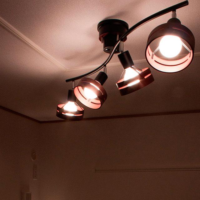 【送料無料】リモコン付 シーリングライト 照明 4灯アーチェ[Arche] 人気 LT-7…...:beaubelle:10000579