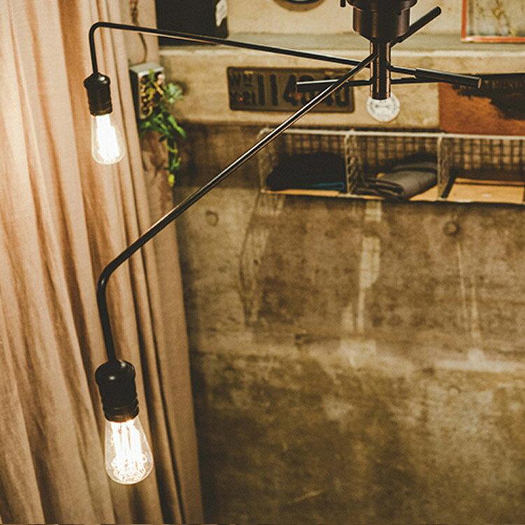 RoomClip商品情報 - シーリングライト 3灯 ナロスト[NAROST CEILING LIGHT]LT-1654 インターフォルム[interform]|インテリア 間接照明 E26 led スチール レトロ 北欧 寝室 おしゃれ かわいい インテリア 照明器具 天井照明 ライト 電気 シーリング リビング用 居間用
