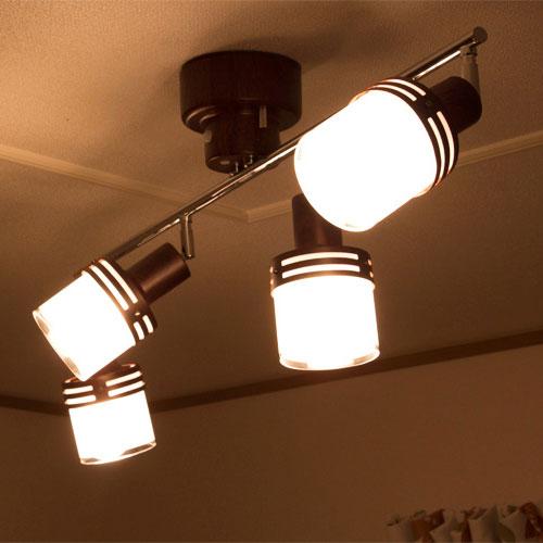 【送料無料】LED対応シーリングライト 4灯 グラーノ バルブレス[GRANO]キシマ[kishima] シーリングライト 照明 天井照明 リモコン付 スポットライト モダン かわいい LED常夜灯 おしゃれ 間接照明 インテリア 照明器具 ライト 電気