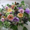 プレゼント 花 誕生日20女性 季節の花でおまかせ アレンジ...