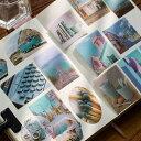 ショッピングマスキングテープ 100枚 海外フレークシール マスキングテープ素材◆色別7種◆和紙 半透明 ステッカー 手帳デコ マステ コラージュ素材 レトロ ビンテージ アンティークラッピング 携帯 飾り 北欧 カラー別 植物 風景 写真 人物 景物 背景