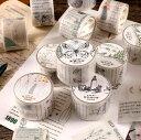ショッピングマスキングテープ 即日発送/珍しいい 硫酸紙テープ 英語 文字 ◆8種類◆ビンテージ アンティーク コラージュ素材 マステ ヴィンテージ ジャンクジャーナル 手帳デコ ラベル 人物 植物 動物 透ける モノクロ モノトーン