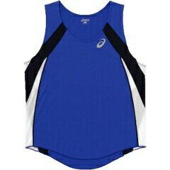 アシックス陸上競技用M'SランニングシャツXT1036[カラー:ブルー][サイズ:XO] XT103
