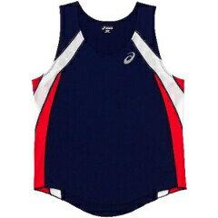 アシックス陸上競技用M'SランニングシャツXT1036[カラー:ネイビー][サイズ:M] XT103
