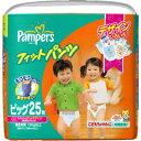 パンパース フィットパンツ ジャンボ ビックサイズ 25枚入り 【P&G: 日用品 ベビー用品】