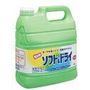 【ライオン】 ライオン 衣料柔軟剤 ソフト&ドライ 4L 【日用品・生活雑貨:洗剤各種:洗濯用洗剤:柔軟剤】【ライオン】