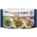 ヘルシーキユーピー 大人の玄米雑炊 3種×2個入り 【キユーピー: 健康食品 ダイエットフード】