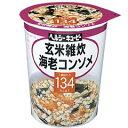 ヘルシーキユーピー 玄米雑炊 海老コンソメ 【キユーピー: 健康食品 ダイエットフード】