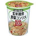 ヘルシーキユーピー 玄米雑炊 野菜コンソメ 【キユーピー: 健康食品 ダイエットフード】